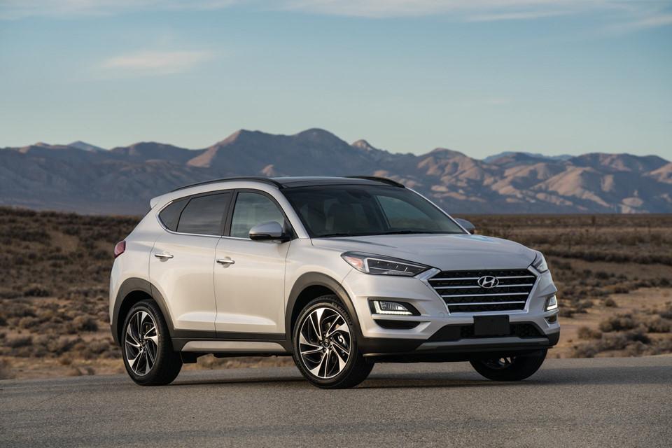 Hyundai Tucson 2019 giá từ 24.000 USD, đối đầu Mazda CX-5
