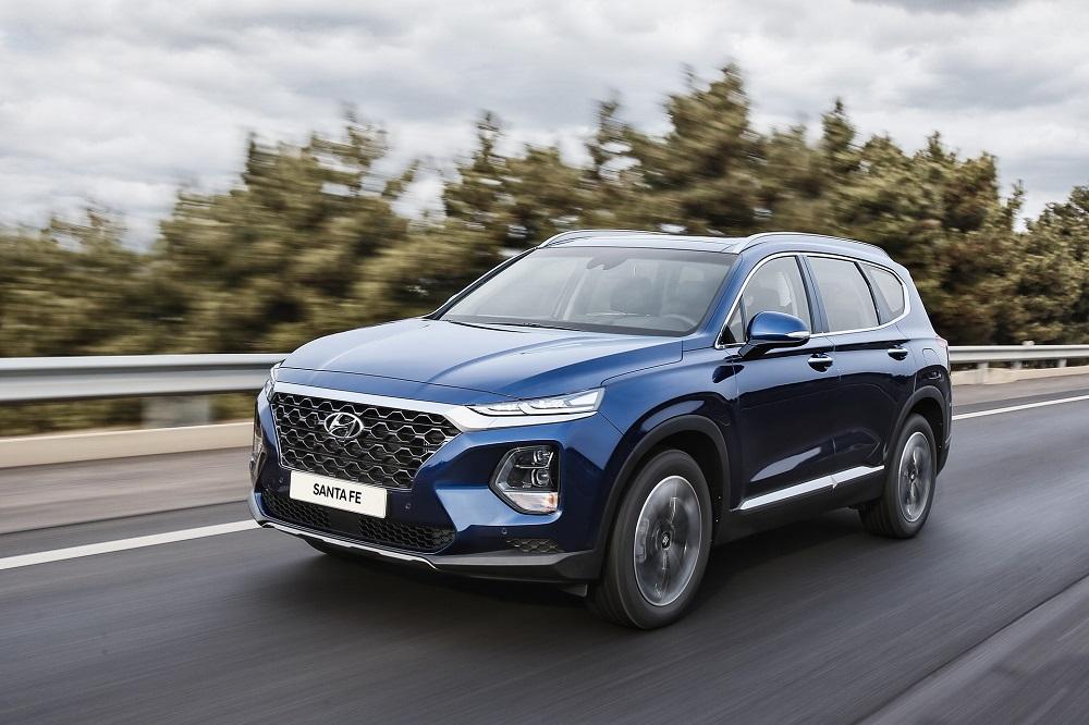 9 tính năng công nghệ cao trên Hyundai SantaFe 2019